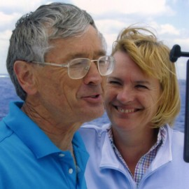 Dick Smith and wife, Pip.
