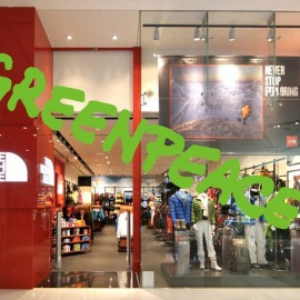 Greenpeace versus The North Face