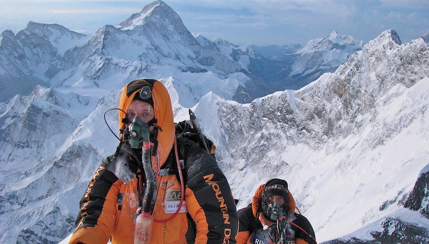 Patrick Hollingworth in the Himalayas.