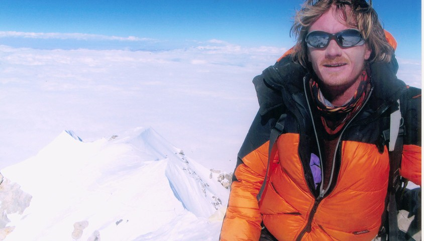 Michael Parker on Makalu