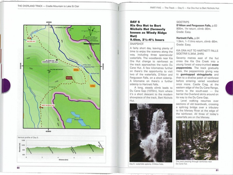 Overland Track guidebook