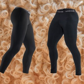 Base layer leggings merino