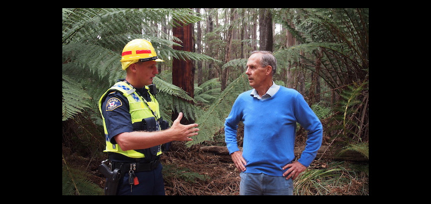Bob Brown at Lapoinya.