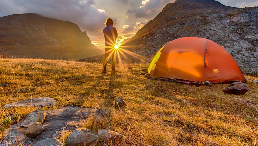 Outdoor adventure apparel. Photo: Shutterstock.