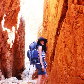 Sarah Baker tests the Osprey Kyte 46 pack in the NT.