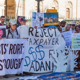 Anti-Adani demonstration